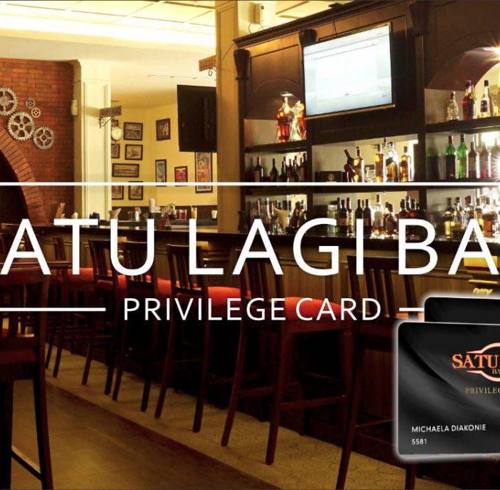 SATU LAGI BAR PRIVILEGE CARD