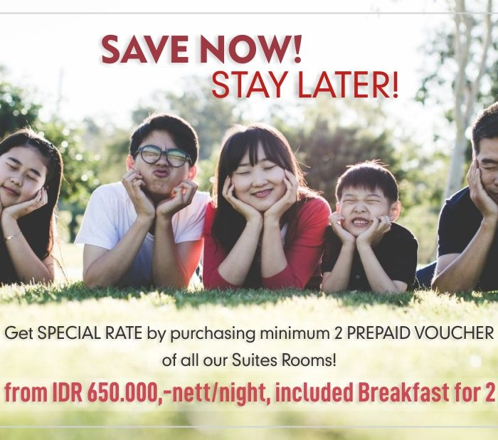 SAVE NOW! STAY LATER!